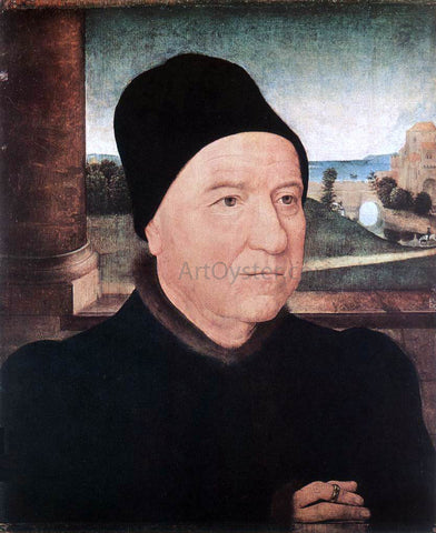 Hans Memling Portrait of an Old Man - Hand Painted Oil Painting