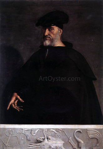 Sebastiano Del Piombo Portrait of Andrea Doria - Hand Painted Oil Painting