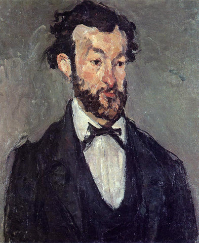 Paul Cezanne Portrait of Antoine Valabregue - Hand Painted Oil Painting