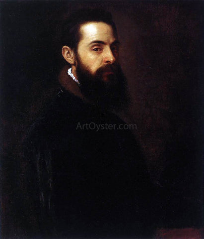 Titian Portrait of Antonio Anselmi - Hand Painted Oil Painting