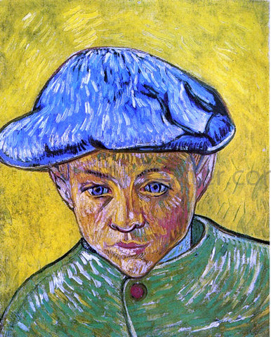 Vincent Van Gogh Portrait of Camille Roulin - Hand Painted Oil Painting