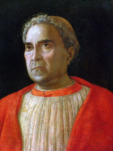 Andrea Mantegna Portrait of Cardinal Lodovico Trevisano - Hand Painted Oil Painting