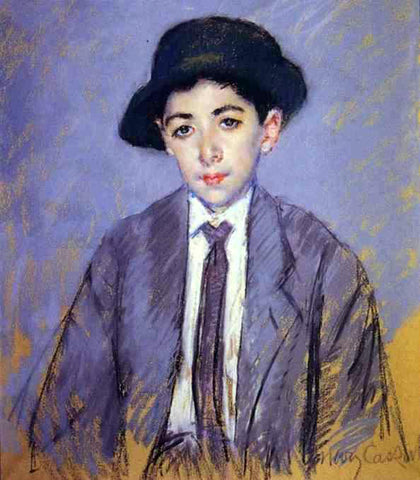 Mary Cassatt Portrait of Charles Dikran Kelekian at Age 12 - Hand Painted Oil Painting