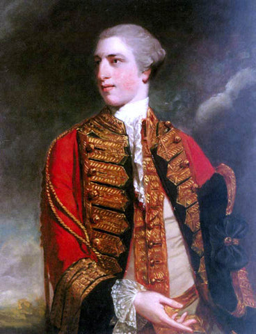 Sir Joshua Reynolds Portrait of Charles Fitzroy, 1st Baron Southampton - Hand Painted Oil Painting