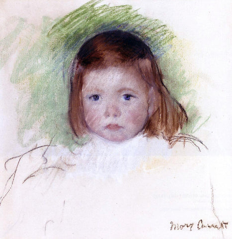 Mary Cassatt Portrait of Ellen Mary Cassatt - Hand Painted Oil Painting