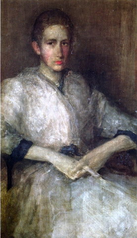 James McNeill Whistler Portrait of Ellen Sturgis Hooper - Hand Painted Oil Painting