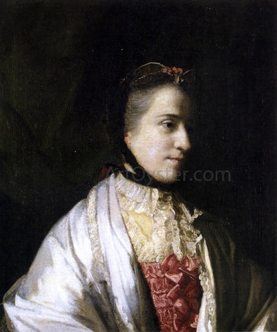 Sir Joshua Reynolds Portrait of Emma, Countess of Mount Edgcumbe - Hand Painted Oil Painting