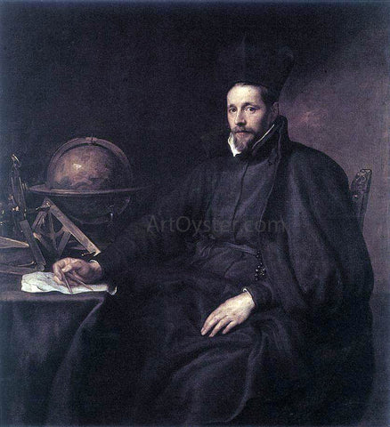 Sir Antony Van Dyck Portrait of Father Jean-Charles della Faille, S.J. - Hand Painted Oil Painting