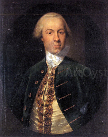 Cosmo Alexander Portrait of General Allanby, Govenor of Santa Lucia - Hand Painted Oil Painting