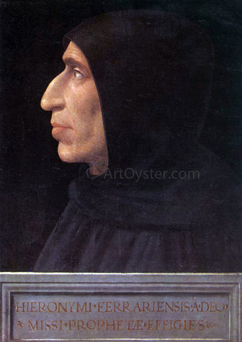 Fra Bartolomeo Portrait of Girolamo Savonarola - Hand Painted Oil Painting