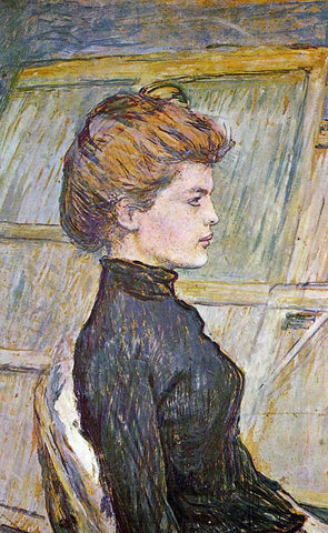 Henri De Toulouse-Lautrec Portrait of Helen (detail) - Hand Painted Oil Painting