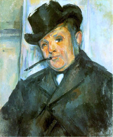 Paul Cezanne Portrait of Henri Gasquet - Hand Painted Oil Painting
