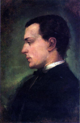 John La Farge Portrait of Henry James, the Novelist - Hand Painted Oil Painting