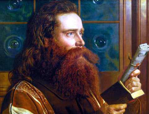 William Holman Hunt Portrait of Henry Wentworth Monk - Hand Painted Oil Painting