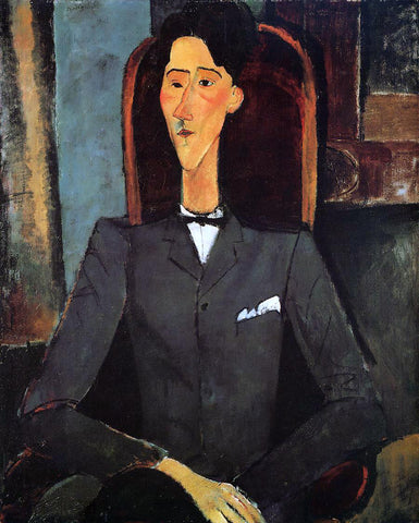 Amedeo Modigliani Portrait of Jean Cocteau - Hand Painted Oil Painting