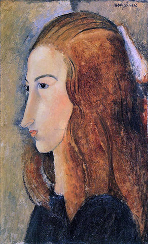 Amedeo Modigliani Portrait of Jeanne Hebuterne - Hand Painted Oil Painting