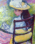 Theo Van Rysselberghe Portrait of Jeanne Pissarro - Hand Painted Oil Painting
