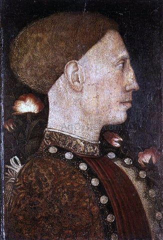 Antonio Pisanello Portrait of Leonello d'Este - Hand Painted Oil Painting