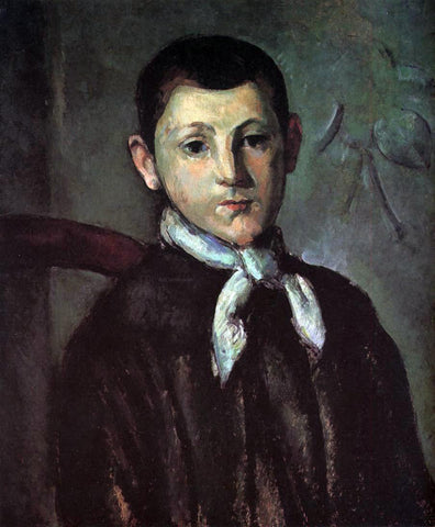 Paul Cezanne Portrait of Louis Guillaume - Hand Painted Oil Painting