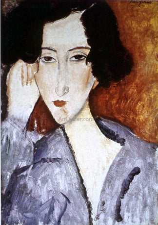 Amedeo Modigliani Portrait of Madame Rachele Osterlind - Hand Painted Oil Painting