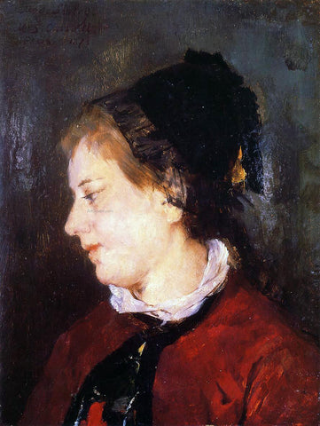Mary Cassatt Portrait of Madame Sisley - Hand Painted Oil Painting