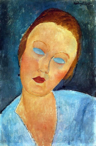Amedeo Modigliani Portrait of Madame Survage - Hand Painted Oil Painting