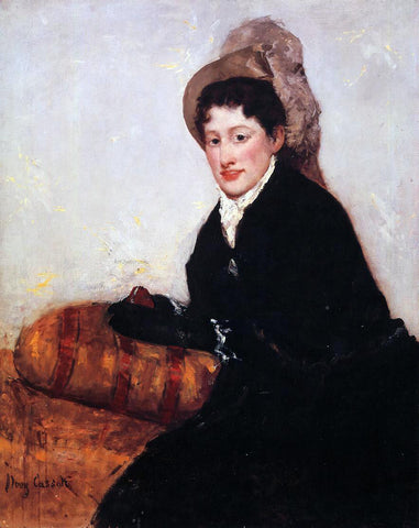 Mary Cassatt Portrait of Madame X Dressed for the Matinee - Hand Painted Oil Painting