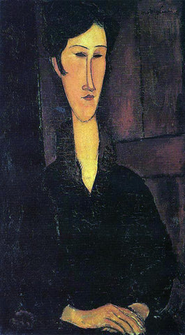 Amedeo Modigliani Portrait of Madame Zborowska - Hand Painted Oil Painting