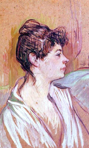 Henri De Toulouse-Lautrec Portrait of Marcelle - Hand Painted Oil Painting