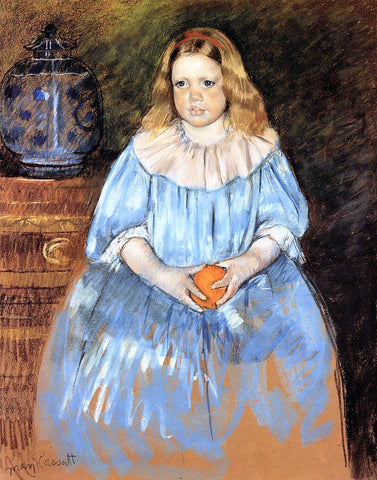 Mary Cassatt Portrait of Margaret Milligan Sloan (no.2) - Hand Painted Oil Painting
