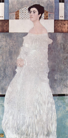 Gustav Klimt Portrait of Margarethe Stonborough-Wittgenstein - Hand Painted Oil Painting