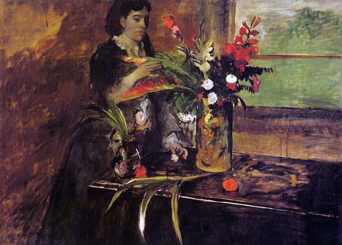 Edgar Degas Portrait of Mme. Rene De Gas, nee Estelle Musson - Hand Painted Oil Painting