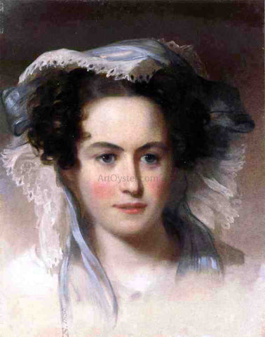 Thomas Sully Portrait of Mrs. C. Ford - Hand Painted Oil Painting