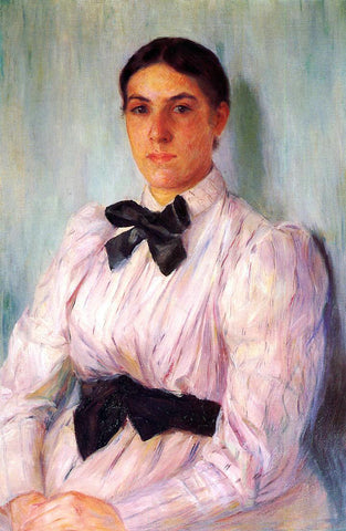 Mary Cassatt Portrait of Mrs. William Harrison - Hand Painted Oil Painting