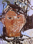 Amedeo Modigliani Portrait of Pablo Picasso - Hand Painted Oil Painting