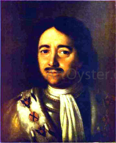 Alexey Petrovich Antropov Portrait of Peter the Great - Hand Painted Oil Painting
