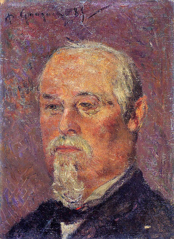 Paul Gauguin Portrait of Philibert Favre - Hand Painted Oil Painting