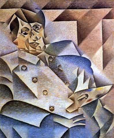 Juan Gris Portrait of Picasso - Hand Painted Oil Painting