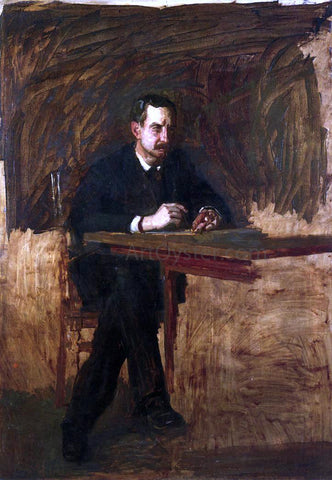 Thomas Eakins Portrait of Professor William D. Marks - Hand Painted Oil Painting