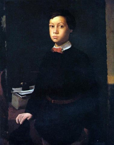 Edgar Degas Portrait of Rene De Gas - Hand Painted Oil Painting