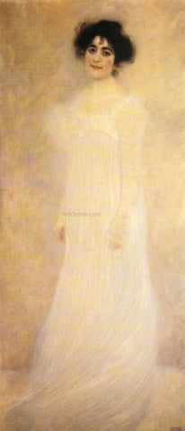 Gustav Klimt Portrait of Serena Lederer - Hand Painted Oil Painting