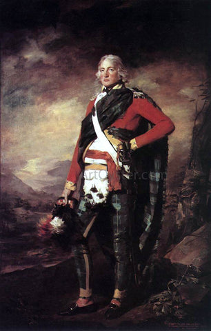 Sir Henry Raeburn Portrait of Sir John Sinclair - Hand Painted Oil Painting