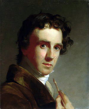 Thomas Sully Portrait of the Artist - Hand Painted Oil Painting
