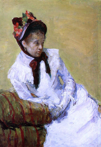 Mary Cassatt Portrait of the Artist - Hand Painted Oil Painting