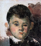 Paul Cezanne Portrait of the Artist's Son (unfinished) - Hand Painted Oil Painting