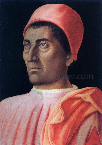 Andrea Mantegna Portrait of the Protonary Carlo de' Medici - Hand Painted Oil Painting