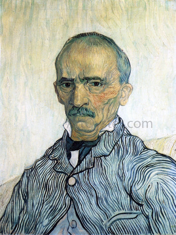 Vincent Van Gogh Portrait of Trabuc - Hand Painted Oil Painting