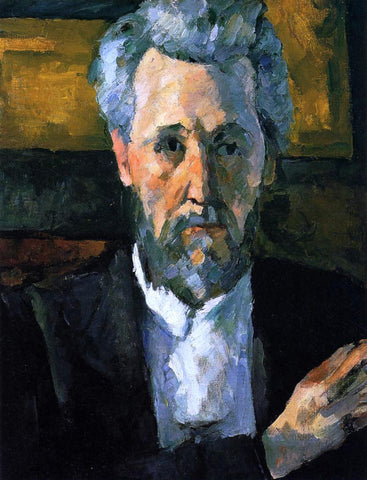 Paul Cezanne A Portrait of Victor Chocquet - Hand Painted Oil Painting
