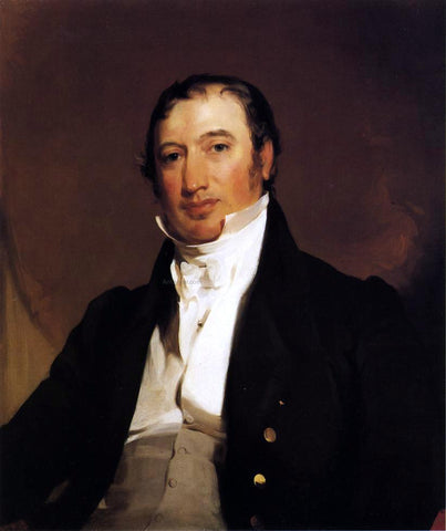 Thomas Sully Portrait of William Brown - Hand Painted Oil Painting