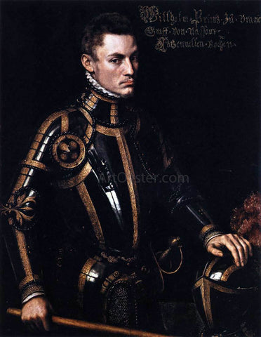 Anthonis Mor Van Dashorst Portrait of William of Orange - Hand Painted Oil Painting